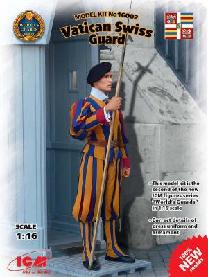 16002 - Vatican Swiss Guard 1/16