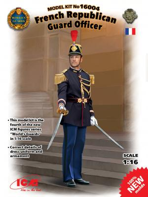 16004 - French Republican Guard Officer 1/16