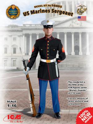 16005 - US Marines Sergeant  1/16