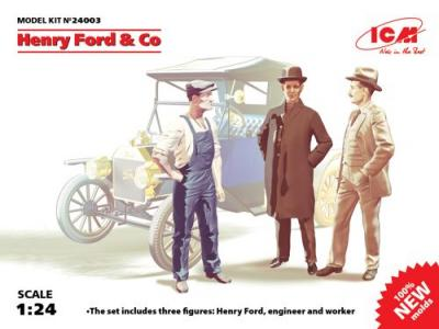 24003 - Henry Ford & Co (3 figures)
