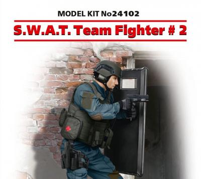 24102 - S.W.A.T. Team Fighter 2