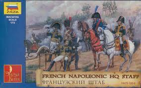8080 - Etat-Major français 1er Empire Napoléon 1/72