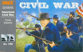 705 - ACW Union Infantry