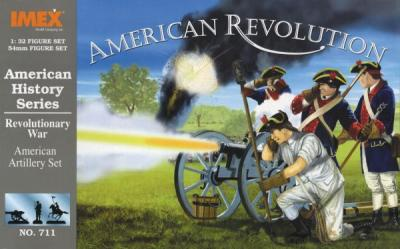 711 - American Artillery American War of Independance