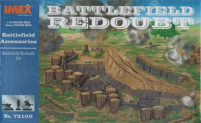 72100 Battlefield Redoubt Set /72