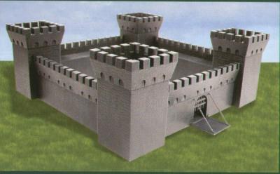 7250 - Avalon Castle 1/72