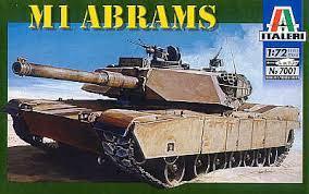 7001 - U.S. M1 Abrams 1/72