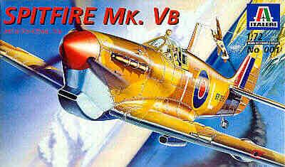 0001 - Supermarine Spitfire Mk.VB 1/72