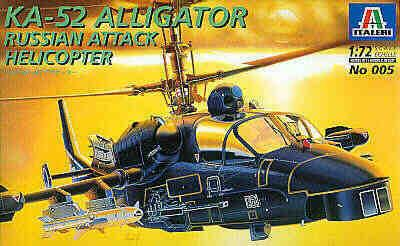 0005 - Kamov Ka-52 Alligator 1/72