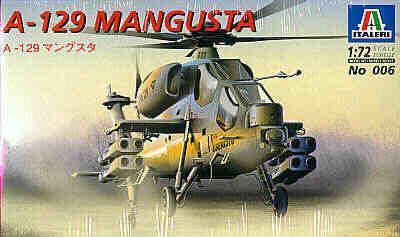 0006 - Agusta A129 Mangusta 1/72