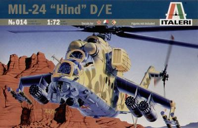 0014 - Mil Mi-24 Hind D 1/72