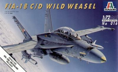 0016 - McDonnell-Douglas F/A-18C / F/A-18D Hornet 'Wild Weasel' 1/72