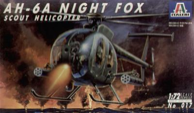 0017 - AH-6A Night Fox 1/72