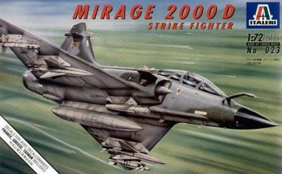0023 - Dassault Mirage 2000 D 1/72