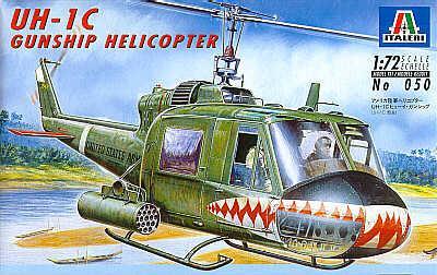 0050 - Bell UH-1C Gunship 1/72