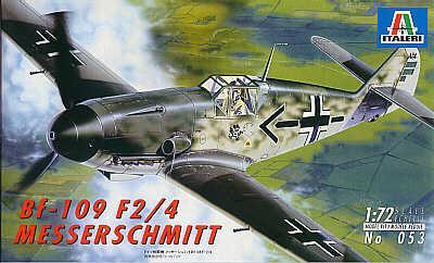 0053 - Messerschmitt Bf 109F-2/Bf 109F-4 1/72