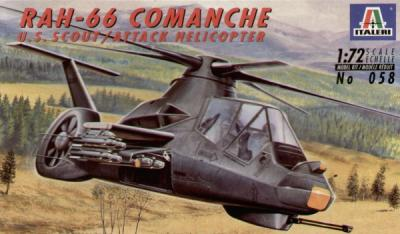 0058 - Boeing-Sikorsky RAH-66 Comanche 1/72