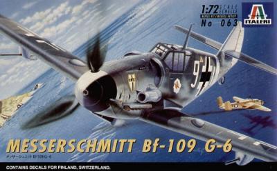 0063 - Messerschmitt Bf 109G-6 1/72