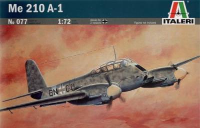 0077 - Messerschmitt Me 210A-1 1/72