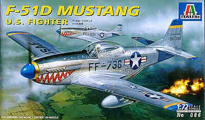 0086 - North-American P-51D Mustang 1/72