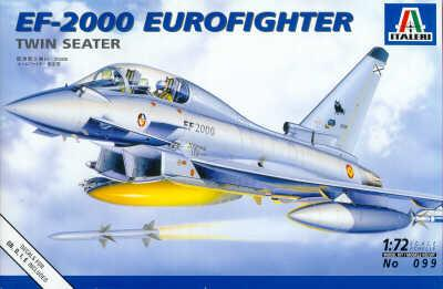 0099 - Eurofighter EF-2000B Typhoon twin seat 1/72