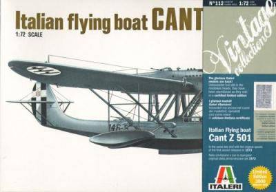 0112 - Cant Z.501 Italian flying boat (Limited edition) 1/72