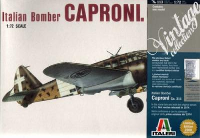 0113 - Italian Bomber Caproni CA.311 (Vintage Collection) 1/72