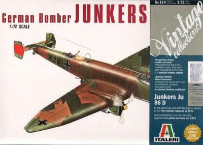 0114 - Junkers Ju 86D-1 1/72