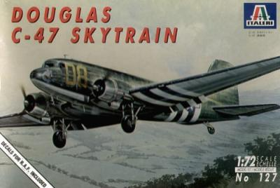 0127 - Douglas C-47 Dakota Skytrain 1/72