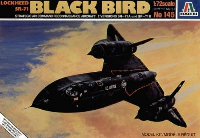 0145 - Lockheed SR-71 Blackbird 1/72