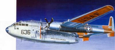 0146 - Fairchild C-119 Flying Boxcar 1/72