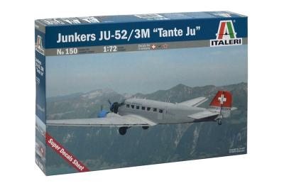 0150 - Junkers Ju 52/3M 'Tante Ju' 1/72
