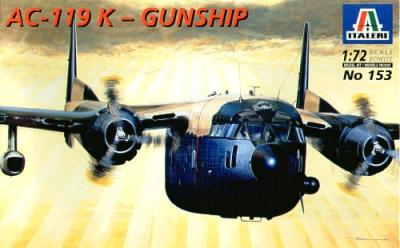 0153 - Fairchild AC-119K Gunship 1/72