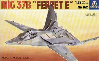 0162 - Mikoyan MiG-37B Ferret E Stealth 1/72