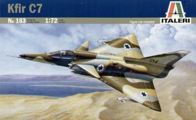0163 - IAF KFIR C-7 1/72