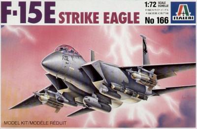 0166 - McDonnell F-15E Strike Eagle 1/72
