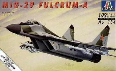 0184 - Mikoyan MiG-29 'Fulcrum' A 1/72