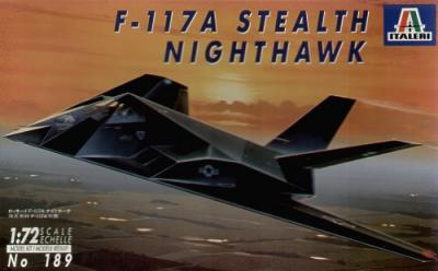 0189 - Lockheed F-117A Stealth 1/72