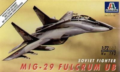 0192 - Mikoyan MiG-29 'Fulcrum' B 1/72