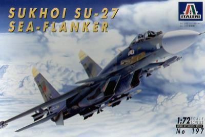 0197 - Sukhoi Su-27D Sea Flanker 1/72