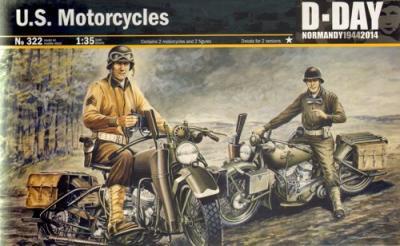 0322 - U.S. Army Harley Davidson's