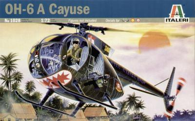 1028 - Hughes OH-6A Cayuse 1/72