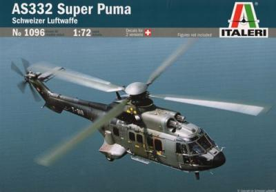 1096 - Aerospatiale AS-332 Super Puma 1/72