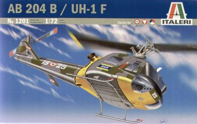 1201 - Augusta-Bell AB-204B Rescue Helicopter 1/72