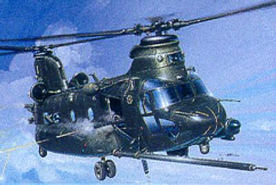 1218 - Boeing MH-47E Chinook SOA 1/72
