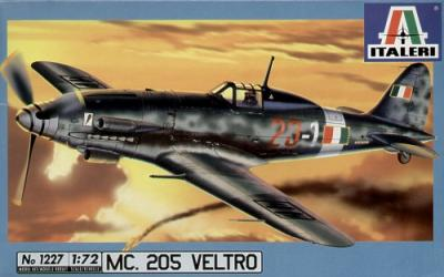 1227 - Macchi C.205 Veltro 1/72