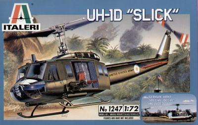 1247 - Bell UH-1D Slick 1/72
