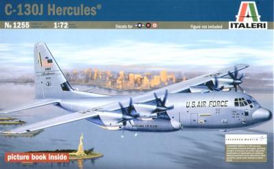 1255 - Lockheed C-130J Hercules 1/72