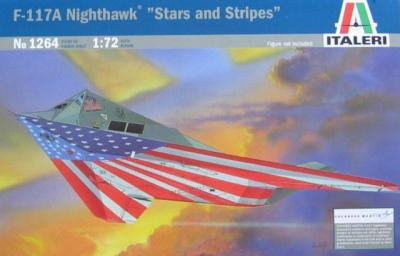 1264 - Lockheed F-117A Nighthawk 1/72