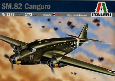 1273 - Savoia-Marchetti SM.82 Canguro 1/72